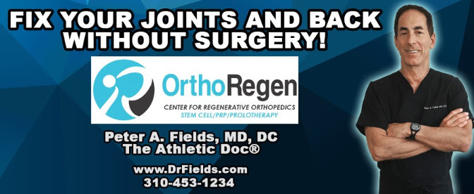 Dr Fields Fix Your Joints Banner