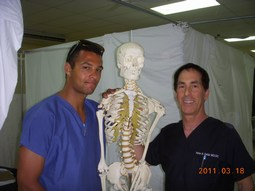 Dr Fields, A Helper And Dr Bones!