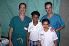 Dr. Fields, A Colleague And Two Translators1