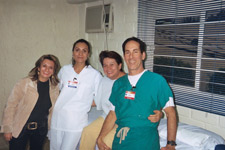 Dr. Fields His Staff And A Patient1
