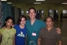Dr. Fields, Two Young Translators And The Owner Of The Local Bi Lingual School