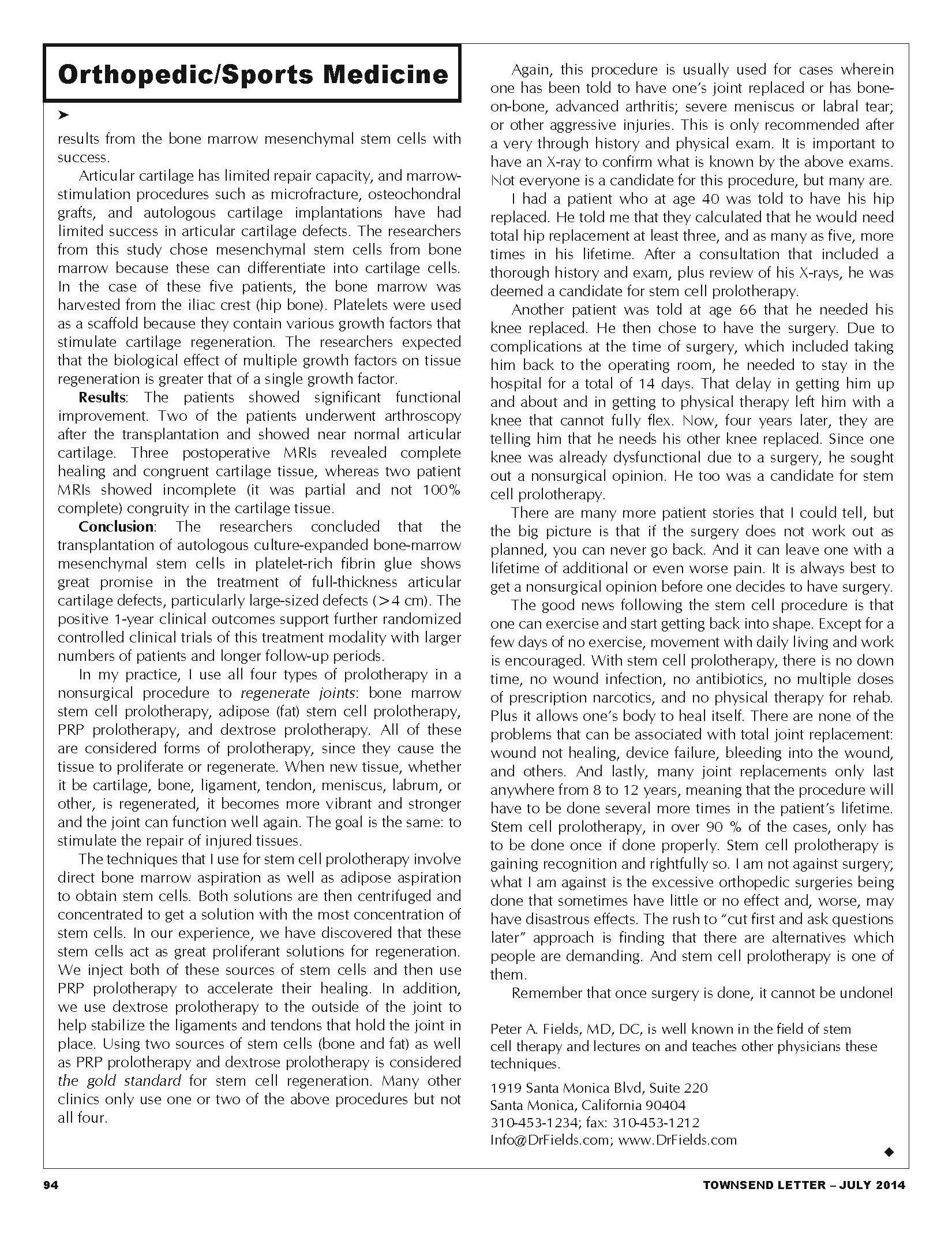Fields July Article2014 Page 2