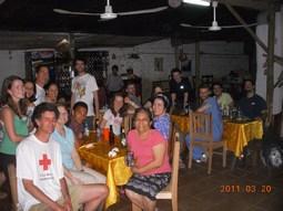 Having Dinner In Olanchito