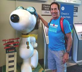 Ironman Santa Rosa Snoopy