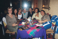The Gang At Dinner