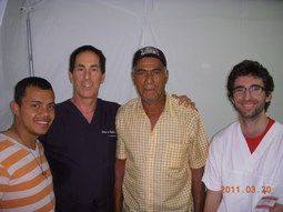 With A Local Translator, A Student Doc From Italy And A Patient