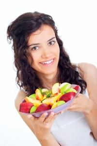 Woman Fruit