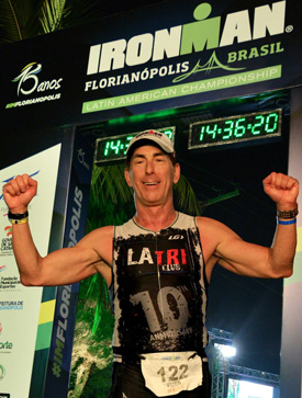 2015 Ironman Brazil Finish