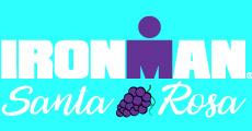 Ironman Santa Rosa Logo Blue