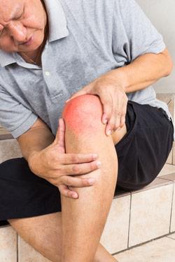 Knee Pain Man