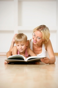 Mother Child Reading